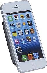 hr-imotion MAGNA-TEC Universalhalterung für alle Smartphones, Phablets, Navigationsgeräte und kleine Tablets [5 Jahre Garantie   Made in Germany   Selbstklebend   Gepolstert] - 21010001