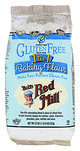 Bob's Red Mill - Gluten Free 1 to 1 Baking Flour - 22 oz (pack of 2)