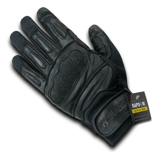 RAPDOM Tactical Kevlar Gloves, Black, Large