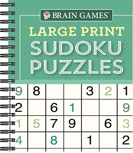 Compare Textbook Prices for Brain Games - Large Print Sudoku Puzzles Green  ISBN 9781640304598 by Publications International Ltd.,Brain Games