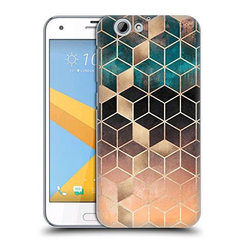 Head Hülle Designs Offizielle Elisabeth Fredriksson Ombre Traum Kuben Kollektion Harte Rueckseiten Handyhülle Hülle Huelle kompatibel mit HTC One A9s