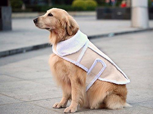 Namsan Dog Warm CoatDog JacketWinter Dog ClothesCold Weather Dog Jacket for Small Dogs XL