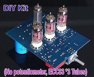 FidgetKute 6Z4+12AX7 Amplifier Preamplifier Board Kit Based on Marantz 7 Classical Circuit Show One Size