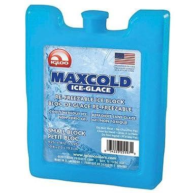 Igloo Maxcold Ice Freezer Block (Ice Blue, Small)