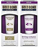Gold Bond Ultimate Neck & Chest Firming, Day & Night Set
