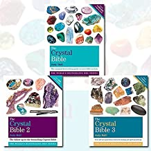Judy Hall The Crystal Bible Volume 1-3 Books Shrink Wrapped Pack Collection set-Godsfield Bibles
