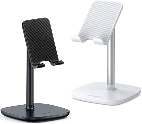 popular UGREEN Cell Phone Stand Desk Holder Bundle Compatible for iPhone 11 Pro Max popular XS XR 8 Plus 6 7, Samsung Galaxy S20 S10 Plus S9 S8 new arrival Note 9 8 S7 S6, Google Pixel 4 XL, LG V40 V30 G7 Smartphone, Adjustable outlet sale