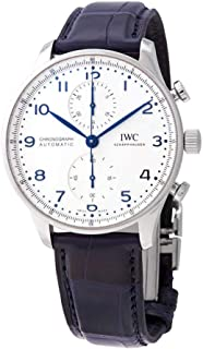 IWC Portugieser Chronograph Automatic Silver Dial Watch IW3716-05