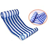 Yayan Premium Swimming Pool Float Hammock, Inflatable Swimming Pools Lounger, Luxury Swimming Pool and Ocean Lilo - Blue