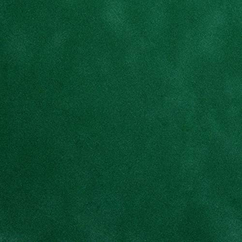 Venilia Klebefolie Velvet Samtoptik Grün, Veloursfolie, Samtfolie, Dekofolie, Möbelfolie, Tapeten, selbstklebende Folie, PVC, 45cm x 1m, 140µm (Stärke: 0,14 mm), 54890, 45 cm x 1 m