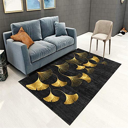 Alfombras Modernas Super Suaves De La Pelusa amarillo Alfombra de sala de estar amarillo simple...