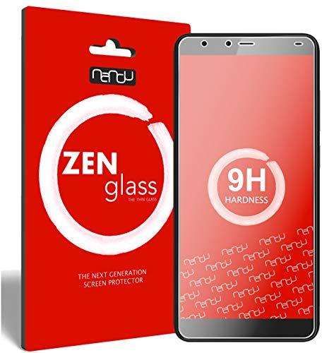 ZenGlass Flexible Glas-Folie kompatibel mit Gigaset GS100 Panzerfolie I Bildschirm-Schutzfolie 9H I (Kleiner Als Das Gewölbte Bildschirm)