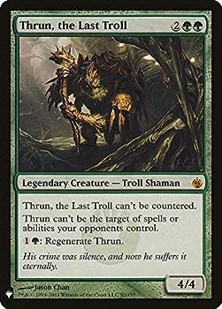 Magic  The Gathering - Thrun The Last Troll - Mystery Booster - Mirrodin Besieged