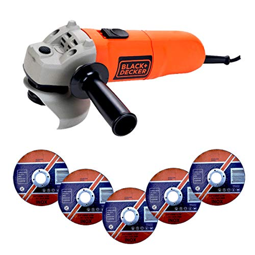 Black Decker& KG115-QS-Amoladora, 115 mm, 750 W