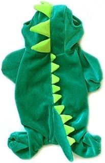 NACOCO Velvet Dinosaur Design Costume Dog Puppy Pet Clothes