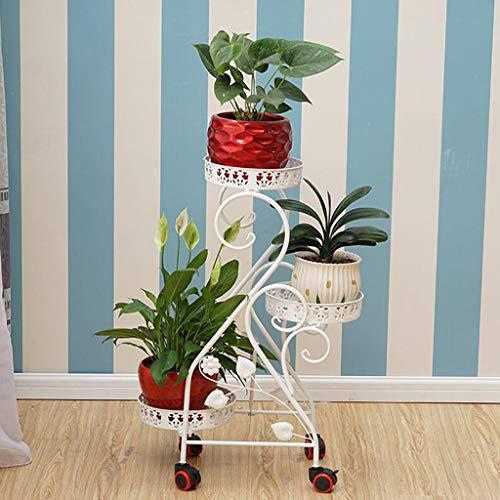 CHLDDHC Soporte para Plantas Soporte para Flores De Metal Es