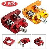 Anpro 2Stk 3D-Druckerteile MK8 Extruder Bausatz, Aluminium Bowden Extruder, 1,75 mm Filament für...