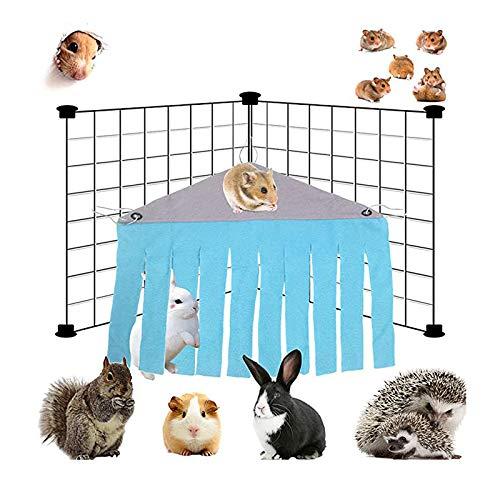Meerschweinchen Versteck Hängematte, Kleintier Hamster Zelt Hängematte, Hamsterzelt Hängematte Meerschweinchen Kleintier, Hase, Frettchen, Eichhörnchen, Igel Ratte, Chinchilla, Bed Corner Nest