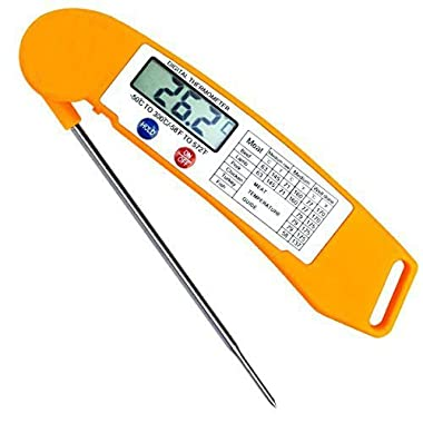 Meat Thermometer,Best Digital Wireless Instand Read Meat/Candy/BBQ Thermometer with Probe for Oven/Grill Food Cooking