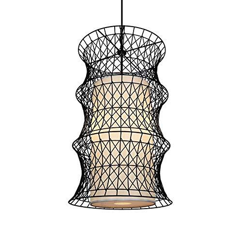 UWY Personalidad Interior Decorativo Araña Grande Creativo E27 Portalámparas Plus COB Spotlight Lámpara Colgante superbrillante Altura Ajustable Luces Colgantes de Hierro