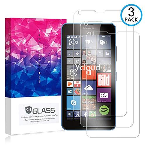Ycloud [3 Pack] Bildschirmschutzfolie für Microsoft Lumia 640 Dual-SIM, Staubdichter, kratzfester Bildschirmschutz für Microsoft Lumia 640 Dual-SIM