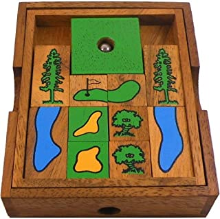 Golf Field (Large) Wooden Puzzle Brain Teaser