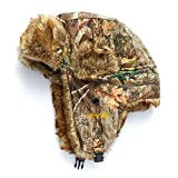 HHOT Shot Men's Camo Sabre Trapper Hat – Realtree Edge Outdoor Hunting Camouflage Gear