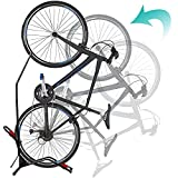 Bike Stand Vertical Bike Rack,Upgrade Large Size Upright Bicycle Floor Stand,Fits Most 20''-29''...