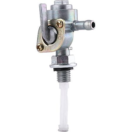 Keenso Gastank Kraftstoffschalter M10x1 25 Benzinhahn Schalter Kraftstoffventil Pumpe Hahn Für Benzingenerator Auto