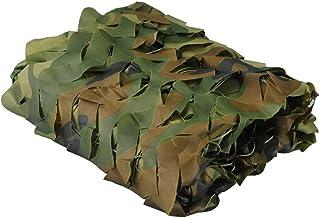 jsmhh Sun Shading Net Jungle Protector Solar al Aire Libre Camuflaje ecológico de montaña, Personalizable de Varios tamaño...
