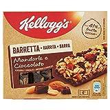 Kellogg's Barretta Mandorle e Cioccolato, 128g...