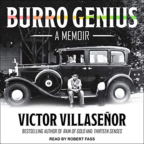 Burro Genius audiobook cover art