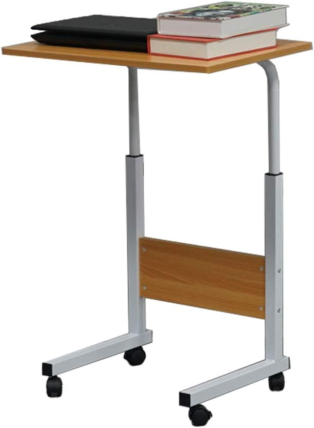 Height Adjustable Overbed Bedside Table Fixed price for sale Sofa Side Reservation with Whe
