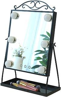 YYHSND Vanity Mirror Kit de iluminación con 6 Bombillas LED Espejo de Maquillaje Estilo Hollywood Iluminación LED Aparador...