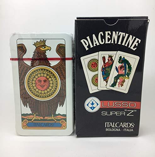 Carte da Gioco Piacentine Ital Cards Cartoncino Triplex