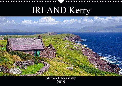IRLAND Kerry (Wandkalender 2019 DIN A3 quer): Eine Fotoreise entlang des Ring of Kerry im Südwesten Irlands. (Monatskalender, 14 Seiten )