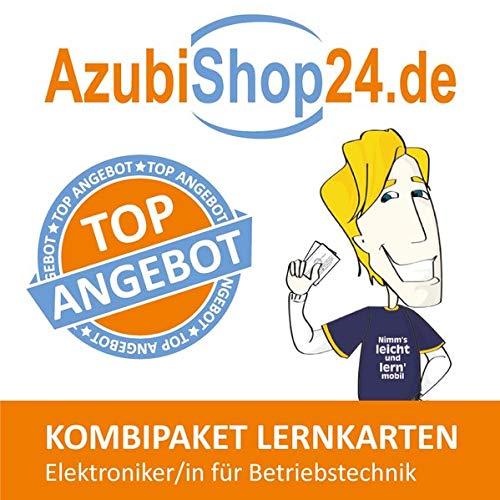 AzubiShop24.de Kombi-Paket Lernkarten Elektroniker/-in für Betriebstechnik: Erfolgreiche Prüfungsvorbereitung auf die Abschlussprüfung