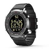 Smart Watches Bluetooth Fitness Tracker Armbanduhr für Herren Damen Sport Uhren Android und iOS(schwarz)