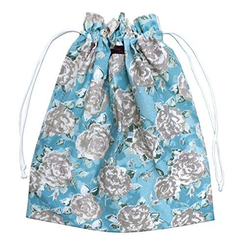 Ragged Rose Sac à Linge, Moules Motif Floral Bleu Canard