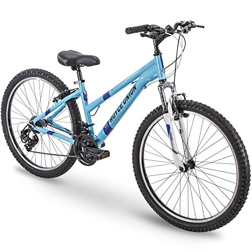 26' Royce Union RTT Womens 21-Speed Mountain Bike, 17' Aluminum Frame, Trigger Shift, Sky Blue (76438)