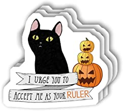 msgolbi 3 PCs Stickers Accept me as Your Ruler Sticker for Laptop, Phone, Cars, Vinyl Funny Stickers Decal for Laptops, Fr...