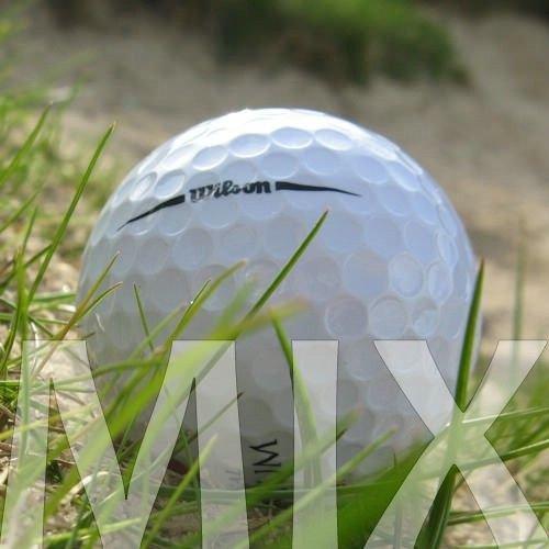 100 WILSON MIX PELOTAS DE GOLF RECUPERADAS / LAKE BALLS - CALIDAD AAA / AA (A / B GRADE)