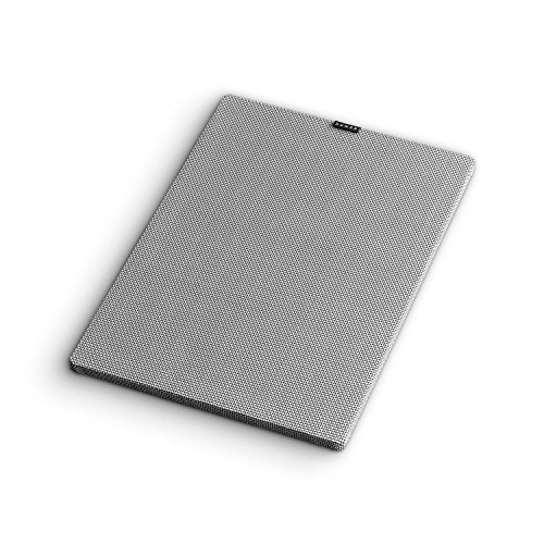NUMAN RetroSub Cover Aktiv-Subwoofer Lautsprecher-Abdeckung (Kraftschlüssige Verbindung ohne Stecker, Optimaler Schutz der Lautsprechermembran) grau