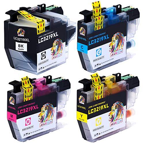 AUBEN LC3219XL Reemplazo Compatible para Brother LC3219XL LC3219 LC3217 Cartuchos de Tinta para Brother MFC-J5330DW MFC-J5730DW MFC-J6530DW MFC-J6930DW MFC-J6935DW MFC-J5335DW MFC-J5930DW,Paquete de 4