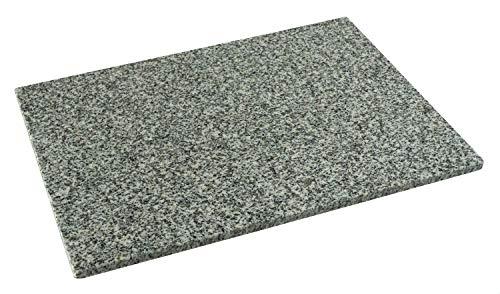 DiConcetto Schneidebrett aus Granit | Steinplatte | Granitplatte (40 x 30 x 1, Granit Kristal)