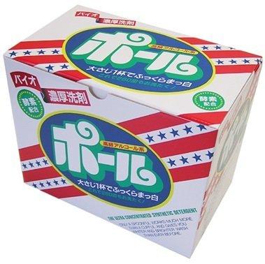 バイオ濃厚洗剤 ポール (酵素配合) 2kg×6箱入