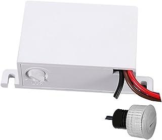 Maclean MCE34 schemeringssensor, schemerschakelaar, met externe sensor voor buiten, max. 2300 W en IP54.