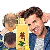 Haarwuchs-ingwer-shampoo,Anti-haarausfall-shampoo,Haarausfall-shampoo Hilft Haarausfall zu Stoppen,Volleres Und Schneller Wachsendes Haar für Männer und Frauen Haarausfallbehandlung (500ml)