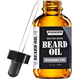 Fragrance Free Beard Oil & Leave In Conditioner, 100%...