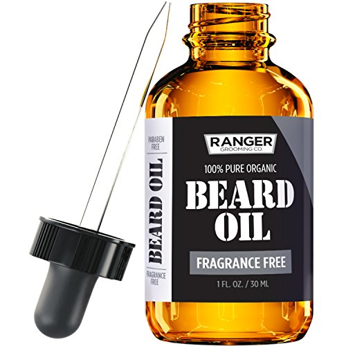 Fragrance Free Beard Oil & Leave In Conditioner,...
